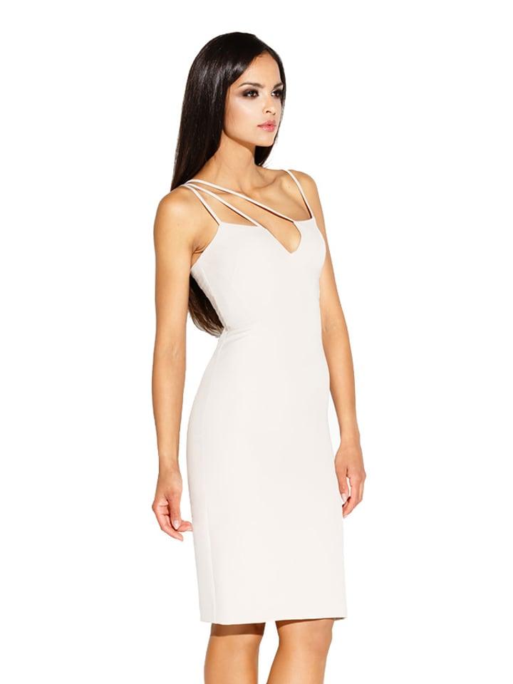 Dursi Sukienka w kolorze beżowym