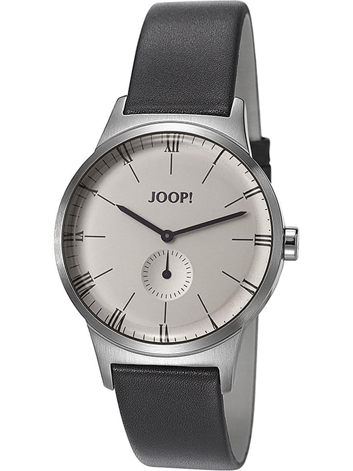 "JOOP! Zegarek kwarcowy ""Jack"" w kolorze czarno-srebrnym"