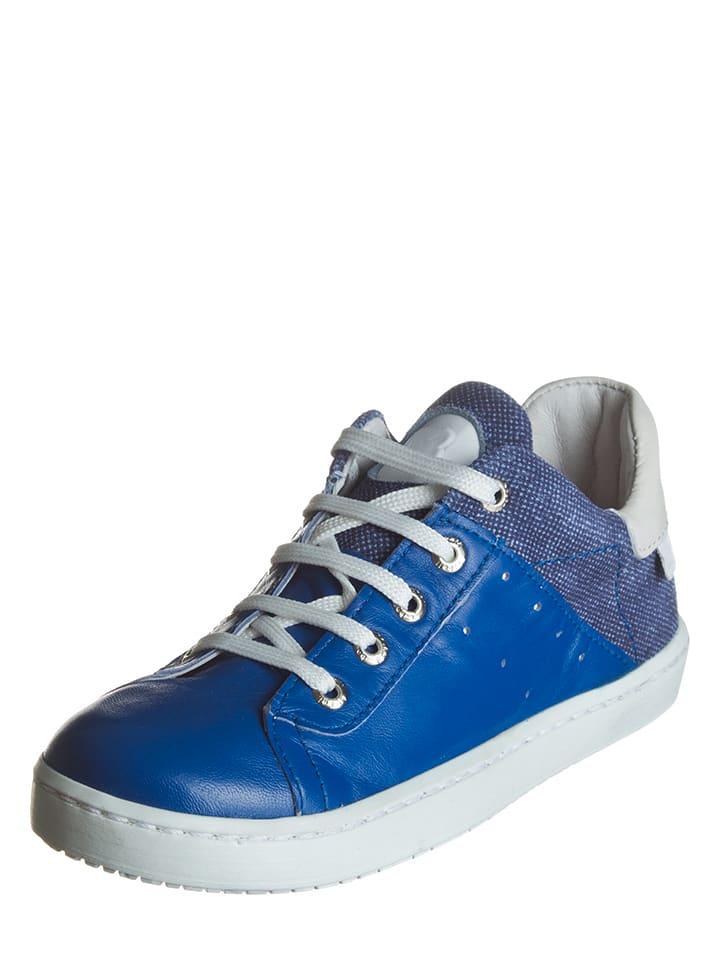 BO-BELL Leder-Sneakers in Blau