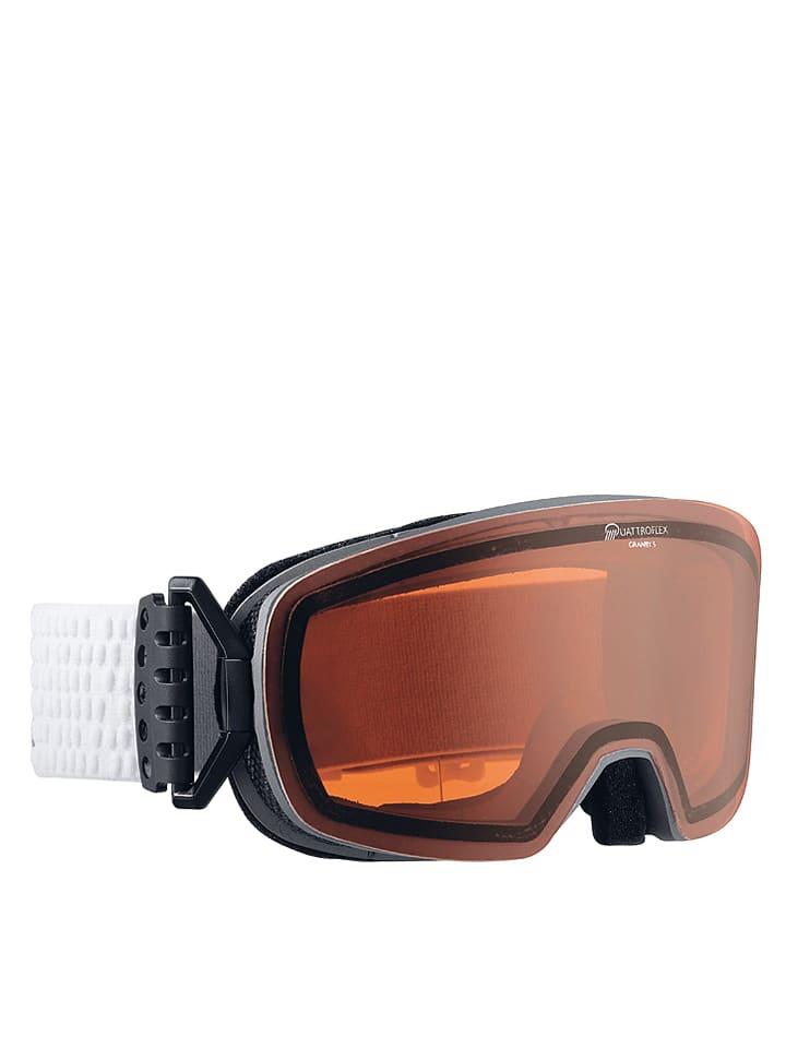 """Alpina Gogle narciarskie """"Granby S QH"""" w kolorze antracytowo-pomarańczowym"""