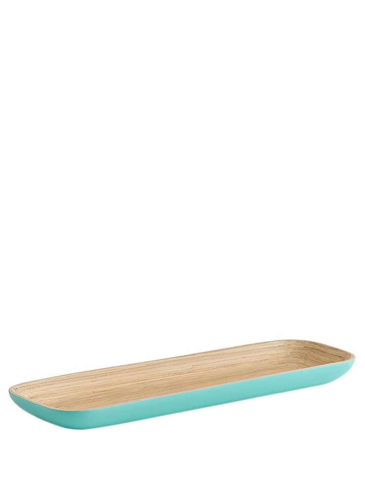 Zeller Półmisek w kolorze beżowo-morskim - (S)35 x (W)12 x (G)3 cm