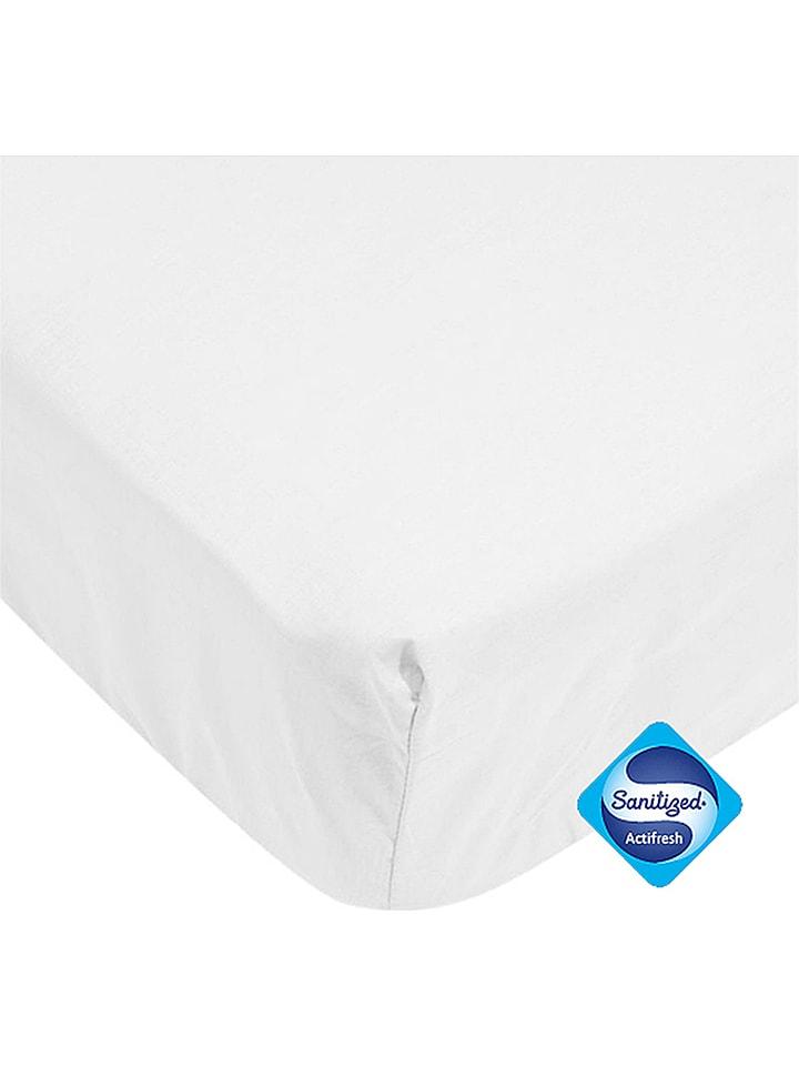 Trois Kilos Sept Protege Matelas Impermeable En Coton Blanc