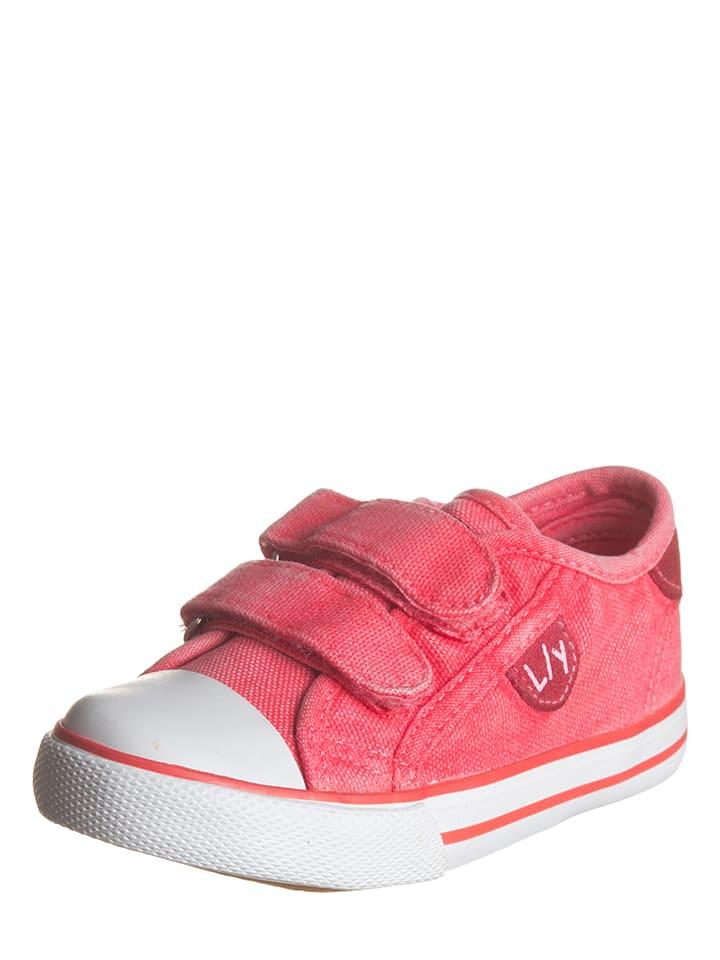 Little Sky Sneakersy w kolorze koralowym