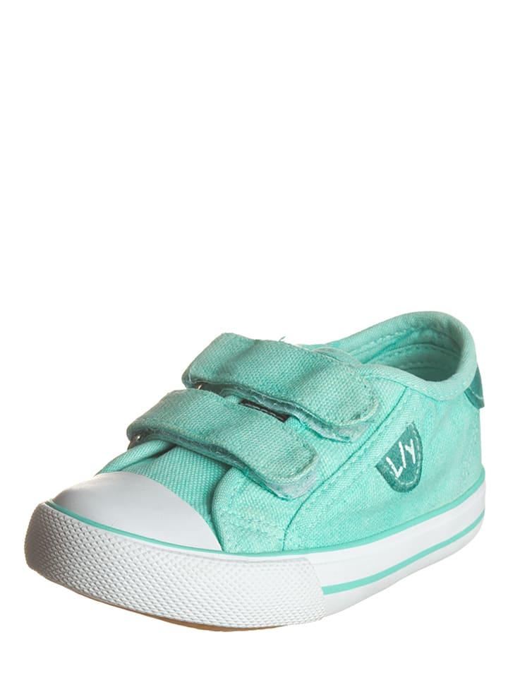 Billowy Sneakers in Mint
