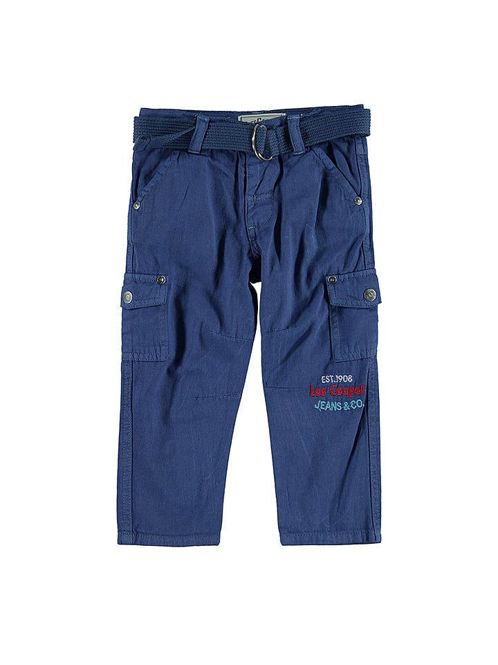 Lee Cooper Cargohose in Blau