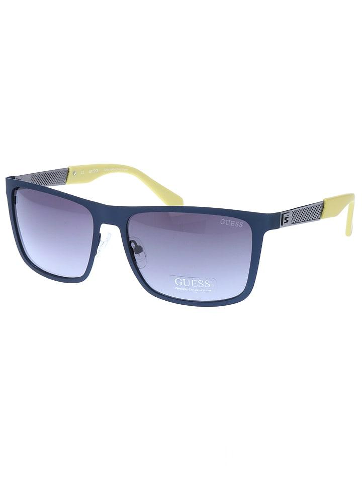 a2a145dbc71d05 Okulary przeciwsłoneczne w kolorze niebiesko-zielonym - Guess ...