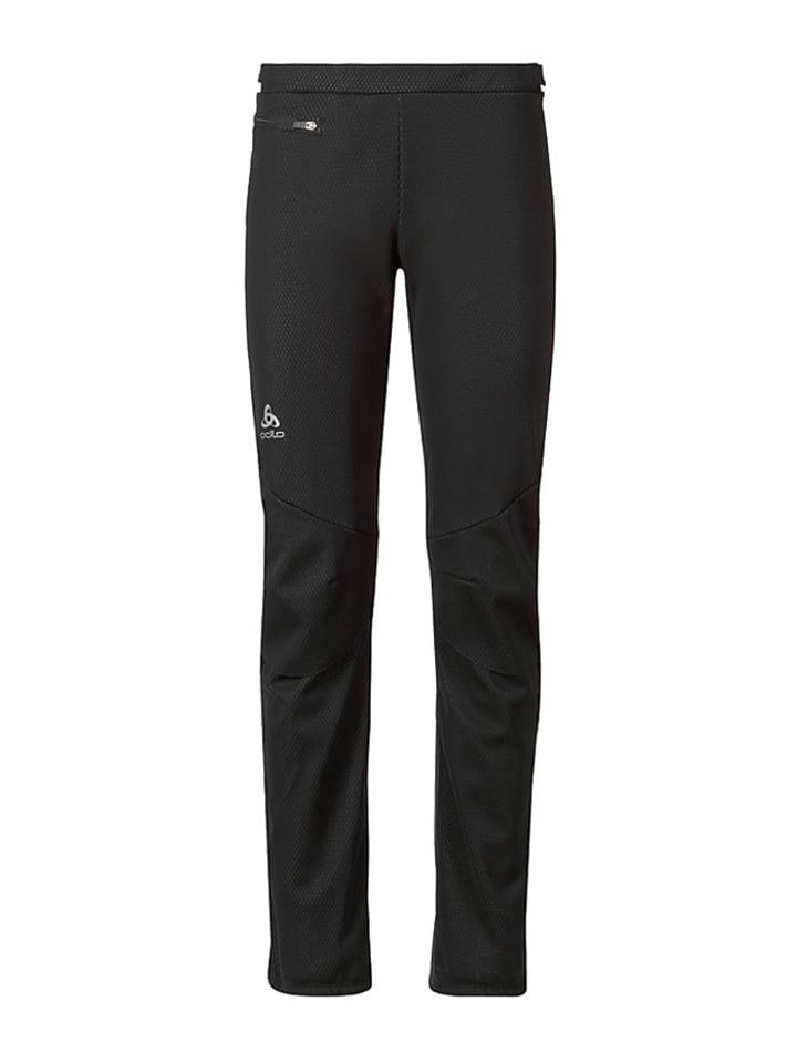 """Odlo Spodnie """"Frequency 2.0"""" w kolorze czarnym do narciarstwa biegowego"""