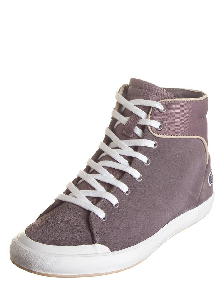 Lacoste Sneakersy w kolorze fiołkowym