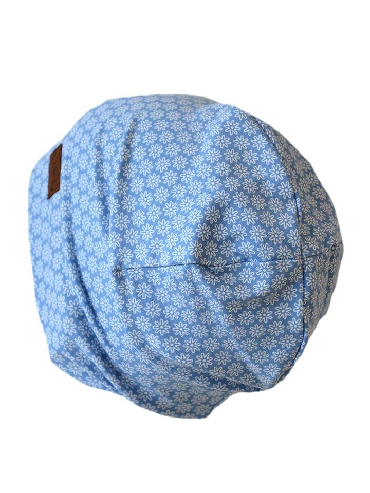 LiVi Czapka beanie w kolorze błękitnym
