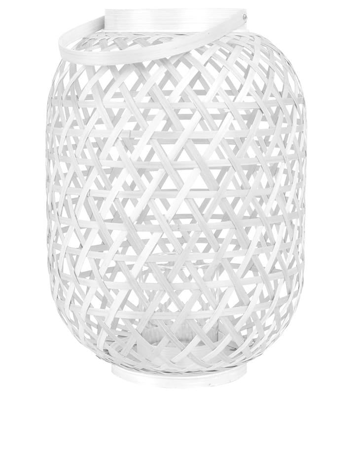 Present Time Lampion w kolorze białym - 37 x Ø 26 cm