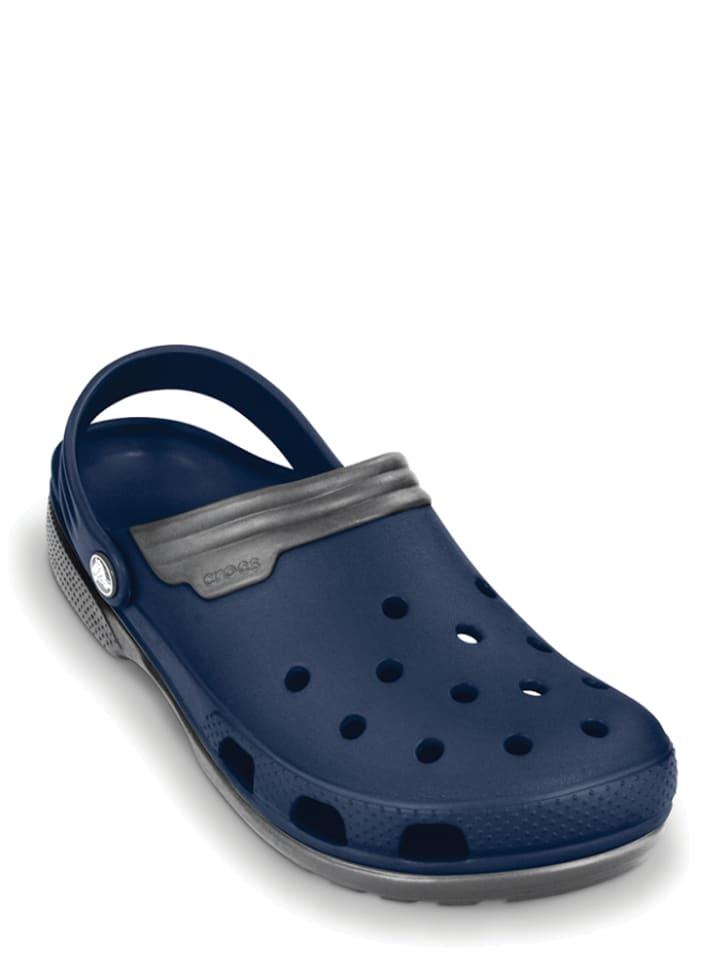 """Crocs Crocs """"Duet"""" donkerblauw"""