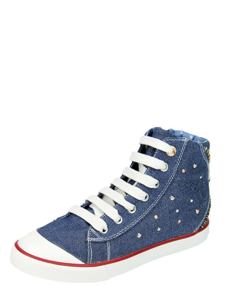 """Geox Sneakersy """"Ciak"""" w kolorze niebieskim"""