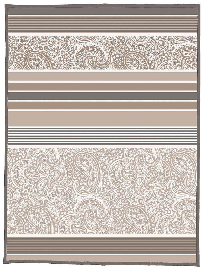 Biberna Pled w kolorze szaro-brązowym