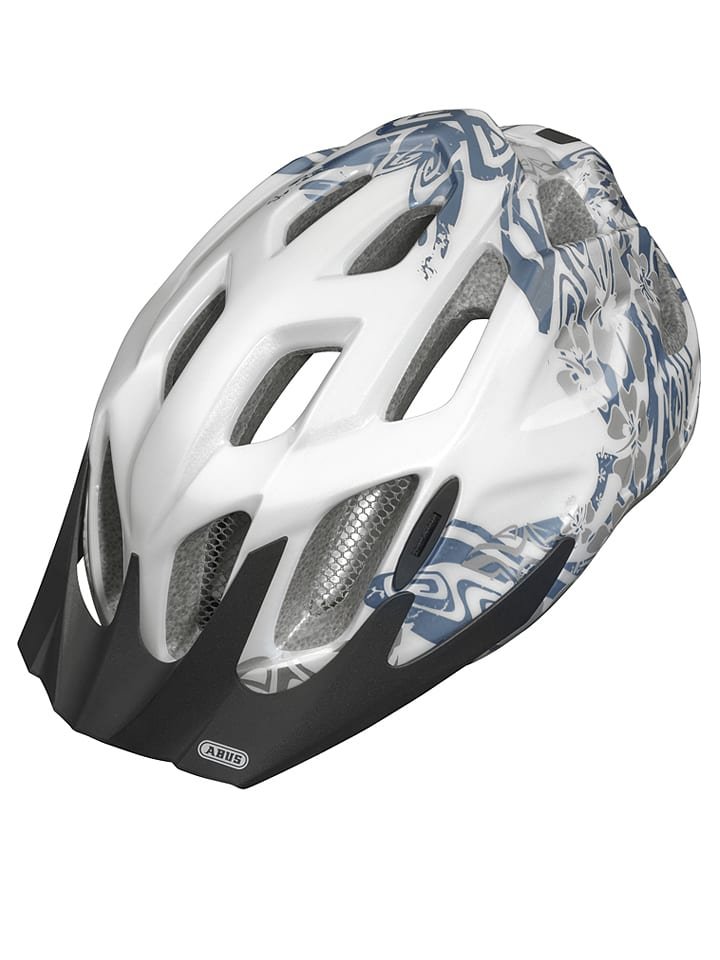 """ABUS Kask rowerowy """"Arica"""" w kolorze biało-czarnym"""