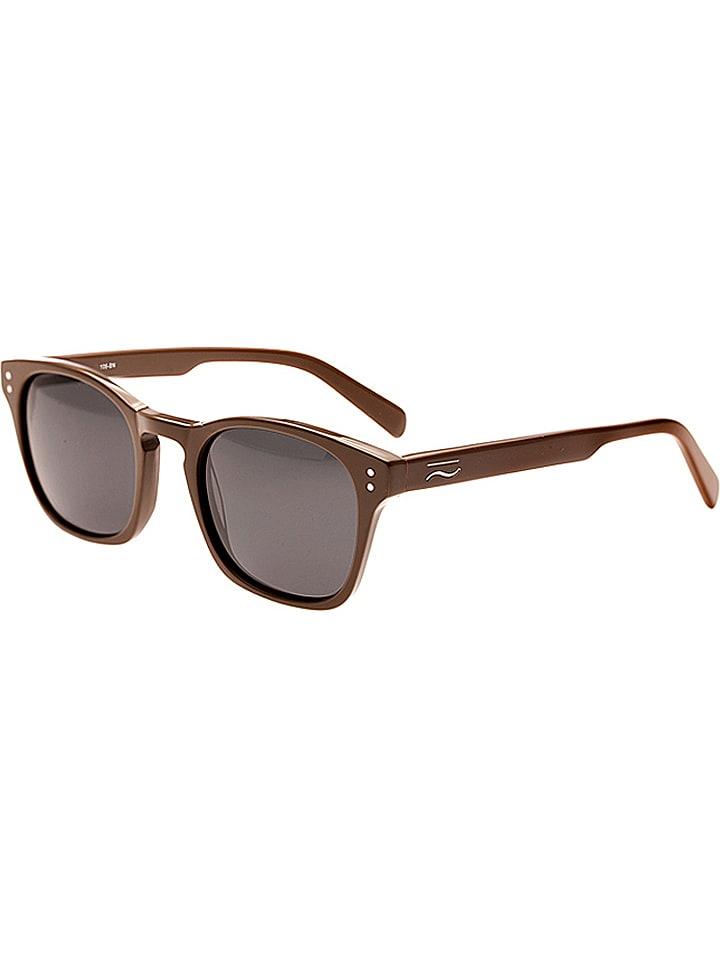 """Simplify Okulary unisex """"Bennett"""" w kolorze brązowo-czarnym"""