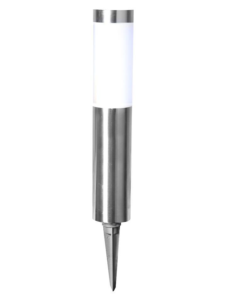 Best Season Ledsolartuinsteker zilverkleurig - (H)40 cm