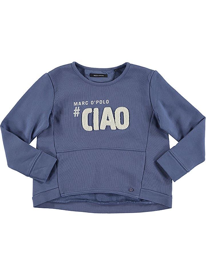 Marc O'Polo Junior Sweatshirt blauw