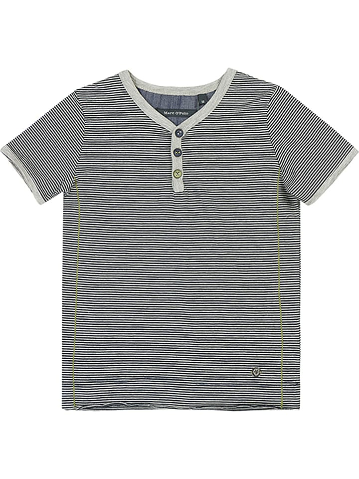 d5518a1114 Marc O'Polo Junior - Shirt in Grau/ Weiß | limango Outlet