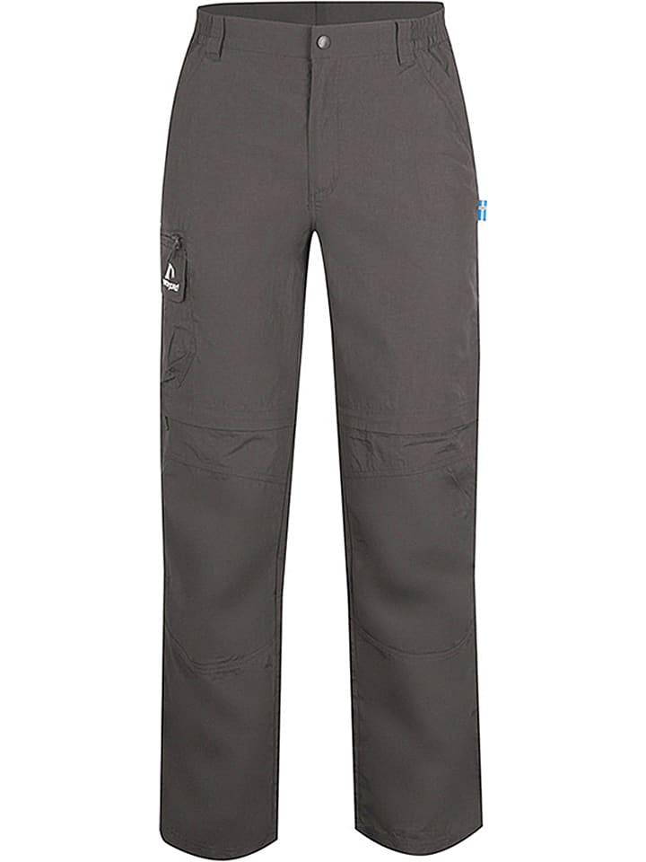 """Westfjord Spodnie trekkingowe Zip-Off """"Eldfjall"""" w kolorze antracytowym"""