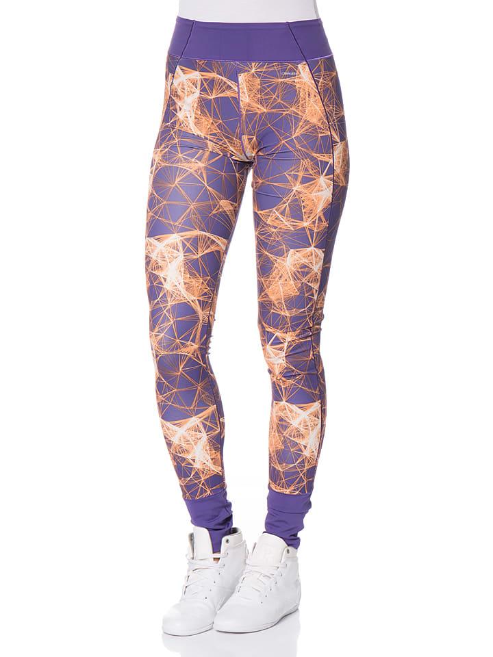 Adidas Legging - violet/orange