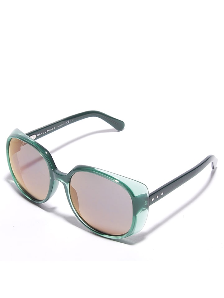 Marc Jacobs - Damen-Sonnenbrille in Grün/ Silber-Gold | limango Outlet