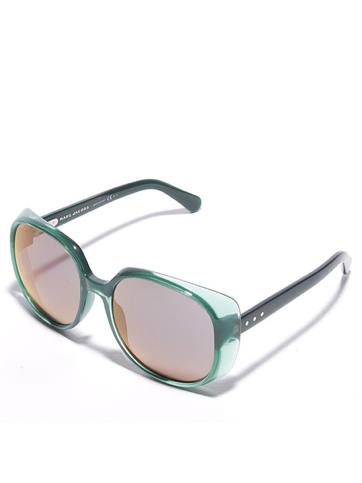 Marc Jacobs - Lunettes de soleil - femme - vert argenté-doré ... 7cfec4d5a55f