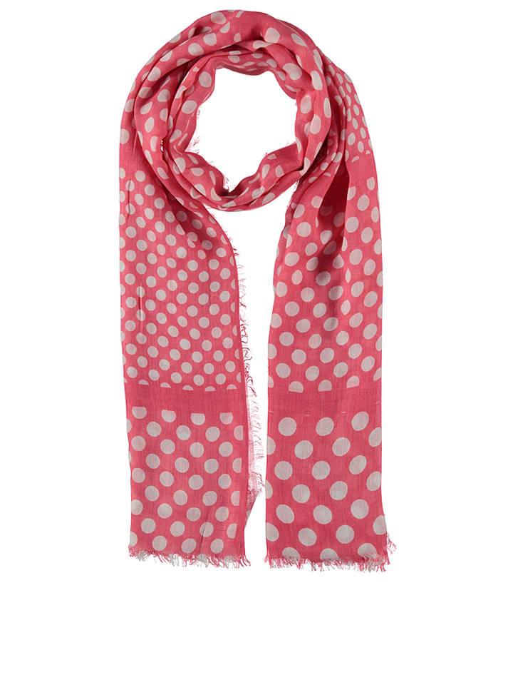Codello Szal w kolorze różowo-białym - 175 x 100 cm