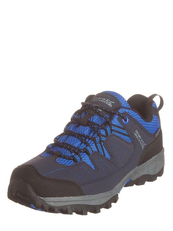 """Regatta Buty trekkingowe """"Holocombe Low"""" w kolorze granatowo-niebieskim"""