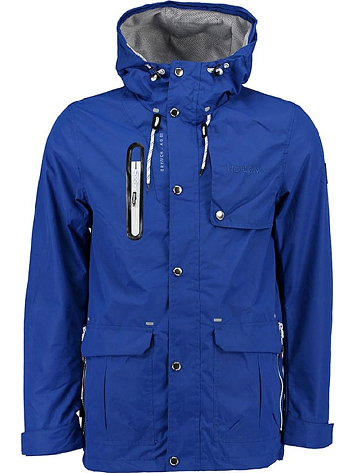 "Geographical Norway Tussenjas ""Arsenic"" blauw"