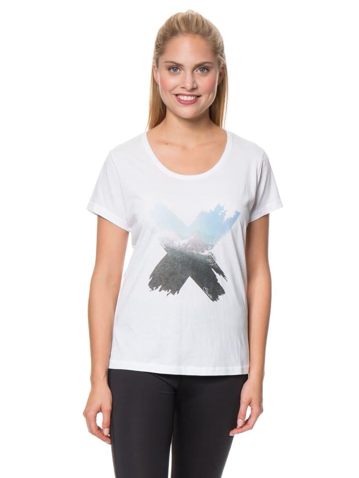 """Dare 2b Koszulka """"Poised"""" w kolorze białym"""