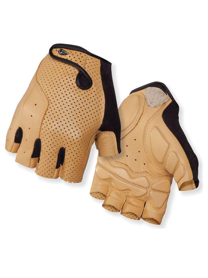 """Giro Rękawiczki kolarskie """"LX 15M"""" w kolorze beżowym"""