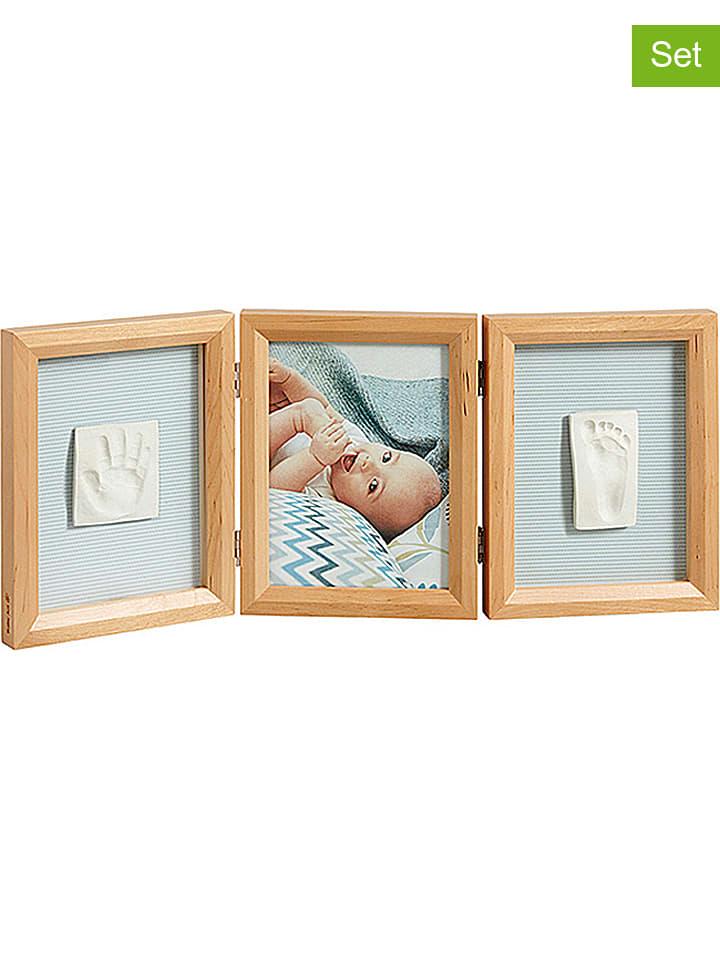 Baby Art - 4tlg. Abdruck-Set mit Bilderrahmen in Natur   limango Outlet