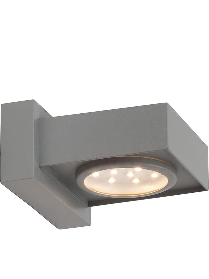 "Brilliant LED-Außenleuchte ""Warren"" - EEK A+ (A++ bis A) - (B)12,5 x (H)6,5 cm"