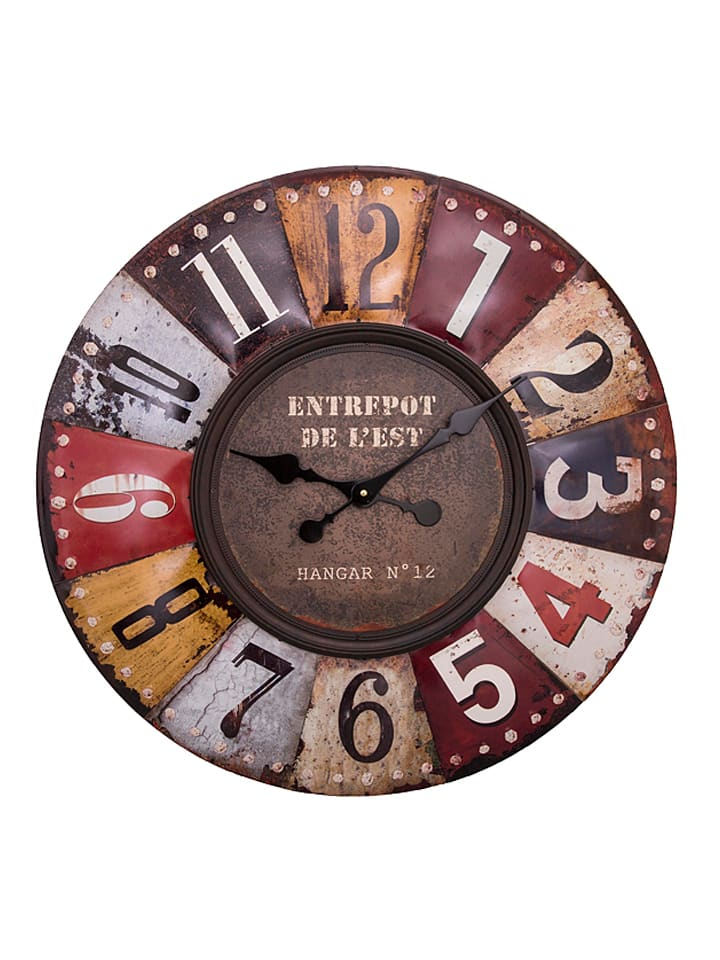 anticline horloge murale fantaisie 70 cm outlet limango