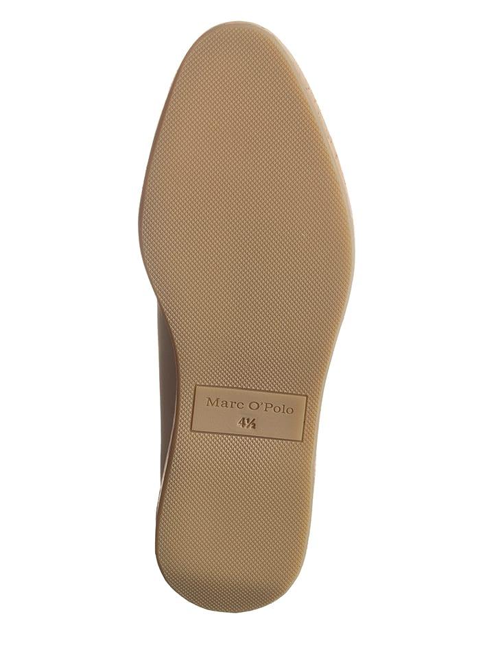 8f8e09b8821e Marc O'Polo Shoes - Chaussures à lacets en cuir - beige/doré   Outlet  limango
