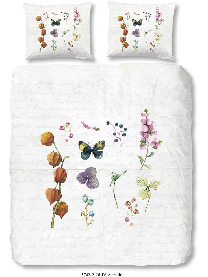 good morning parure de lit en coton vert oliveia. Black Bedroom Furniture Sets. Home Design Ideas