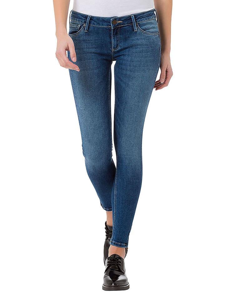 """Cross Jeans Dżinsy """"Giselle"""" - Super Skinny fit - w kolorze granatowym"""