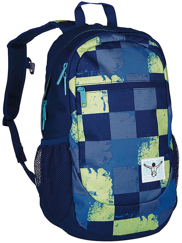"""Chiemsee Plecak """"Techpack Two"""" w kolorze niebiesko-zielonym - 32 x 48 x 16 cm"""