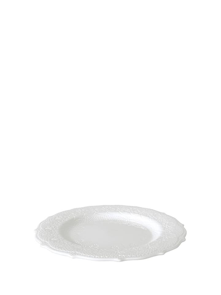Krauff Talerz deserowy w kolorze białym - Ø 21 cm