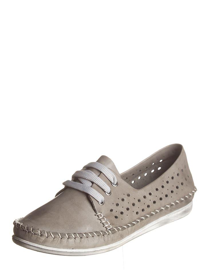 bon ajustement expédition gratuite acheter populaire Andrea Conti - Chaussures à lacets en cuir - gris | Outlet ...