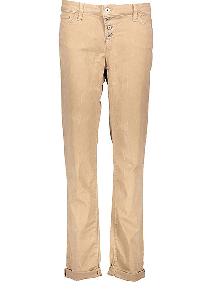 """Mavi Jeans Dżinsy """"Andrea"""" - Boyfriend - w kolorze beżowym"""