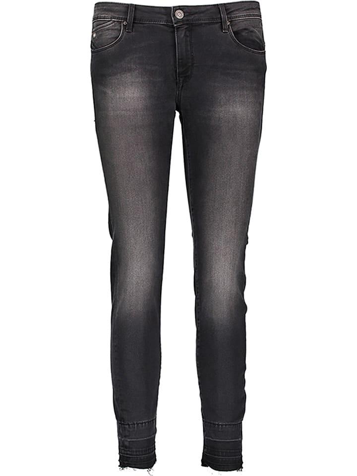 """Mavi Jeans Dżinsy """"Adriana Ankle"""" - Super Skinny - w kolorze antracytowym"""
