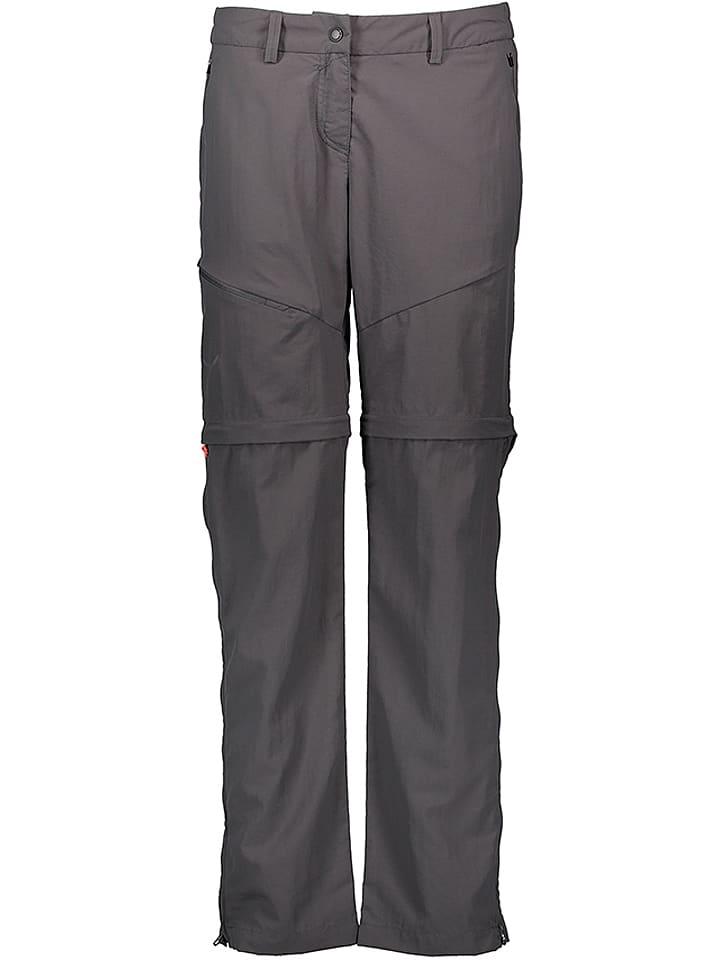 """Salewa Spodnie funkcyjne """"Isea"""" w kolorze antracytowym"""