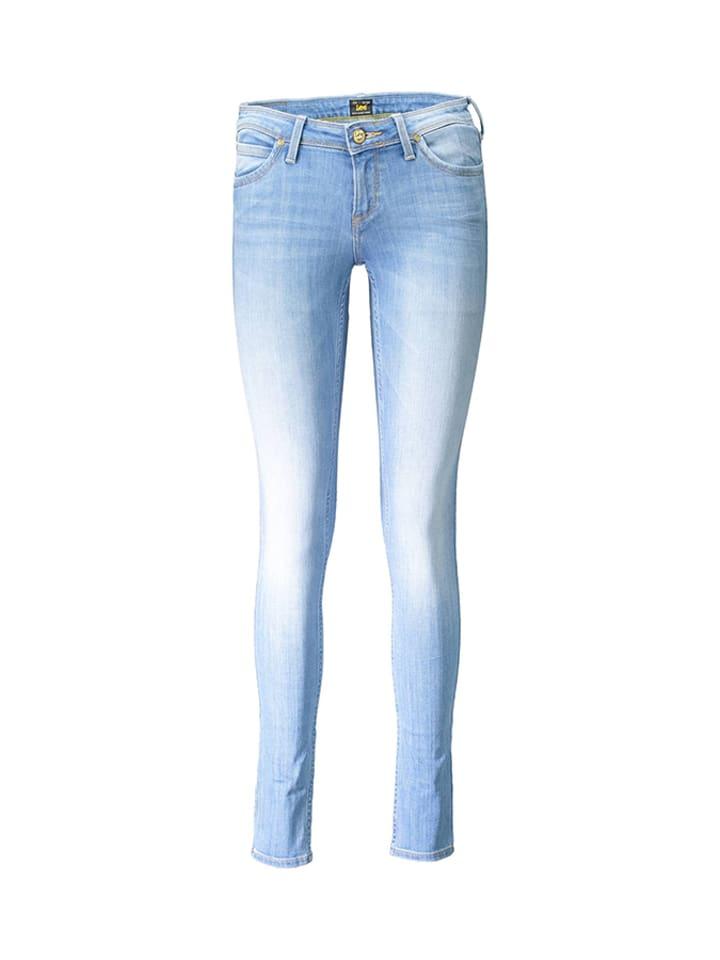 Lee Spodnie w kolorze jasnoniebieskim
