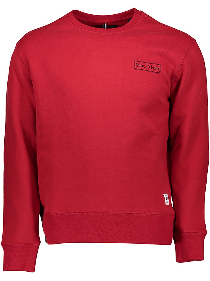 Marc O'Polo Bluza w kolorze czerwonym