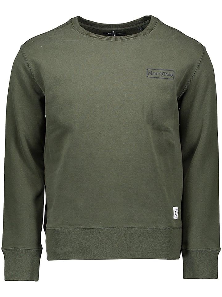 Marc O'Polo Bluza w kolorze khaki