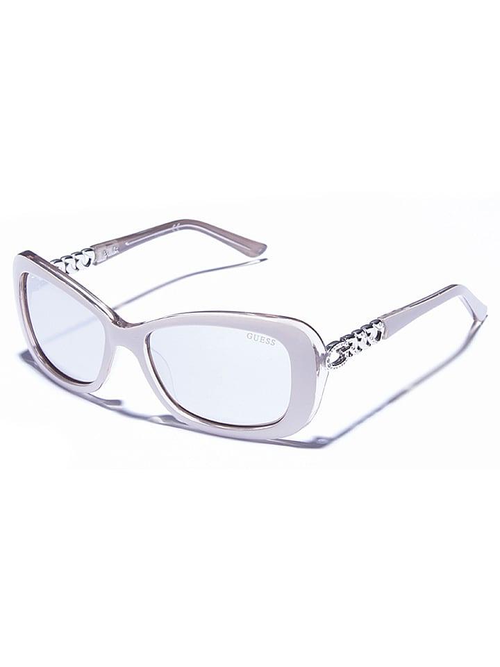 Guess - Lunettes de soleil - femme - gris argenté   Outlet limango f596d7310035
