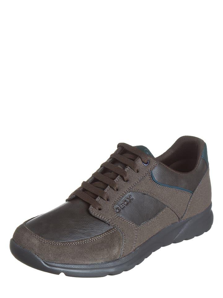 Geox Sneakersy w kolorze szarobrązowym