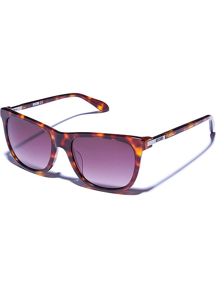 Moschino Damen-Sonnenbrille in Havana/ Braun