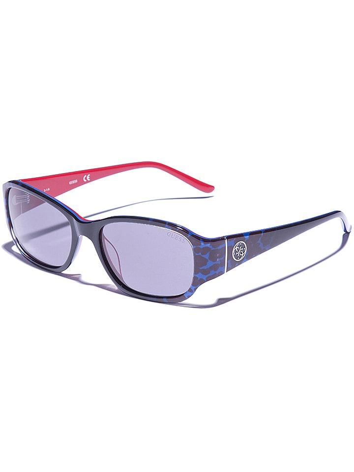 Guess - Lunettes de soleil - femme - noir-bleu gris   Outlet limango b566163cf005